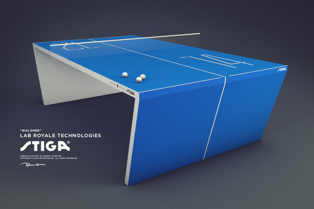 Product Concept U2014 Next Generation Table Tennis Table