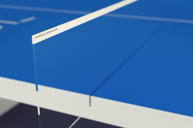 STIGA Waldner table tennis ping pong future technology iTable touch-screen apple designchapel