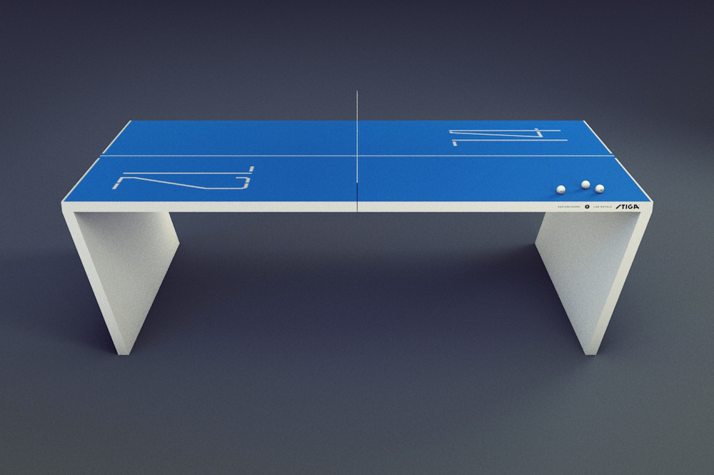 Designchapel product concept next generation table tennis table - Table ping pong prix ...