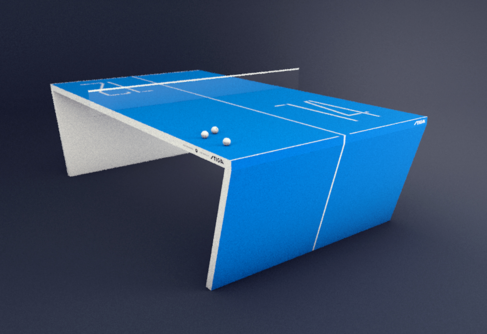 U201cWaldneru201d U2013 The Next Generation Ping Pong Table, Is Made With An Advanced  Computer System Integration. The Table Has A Multi Touch Surface, Which  Responds ...