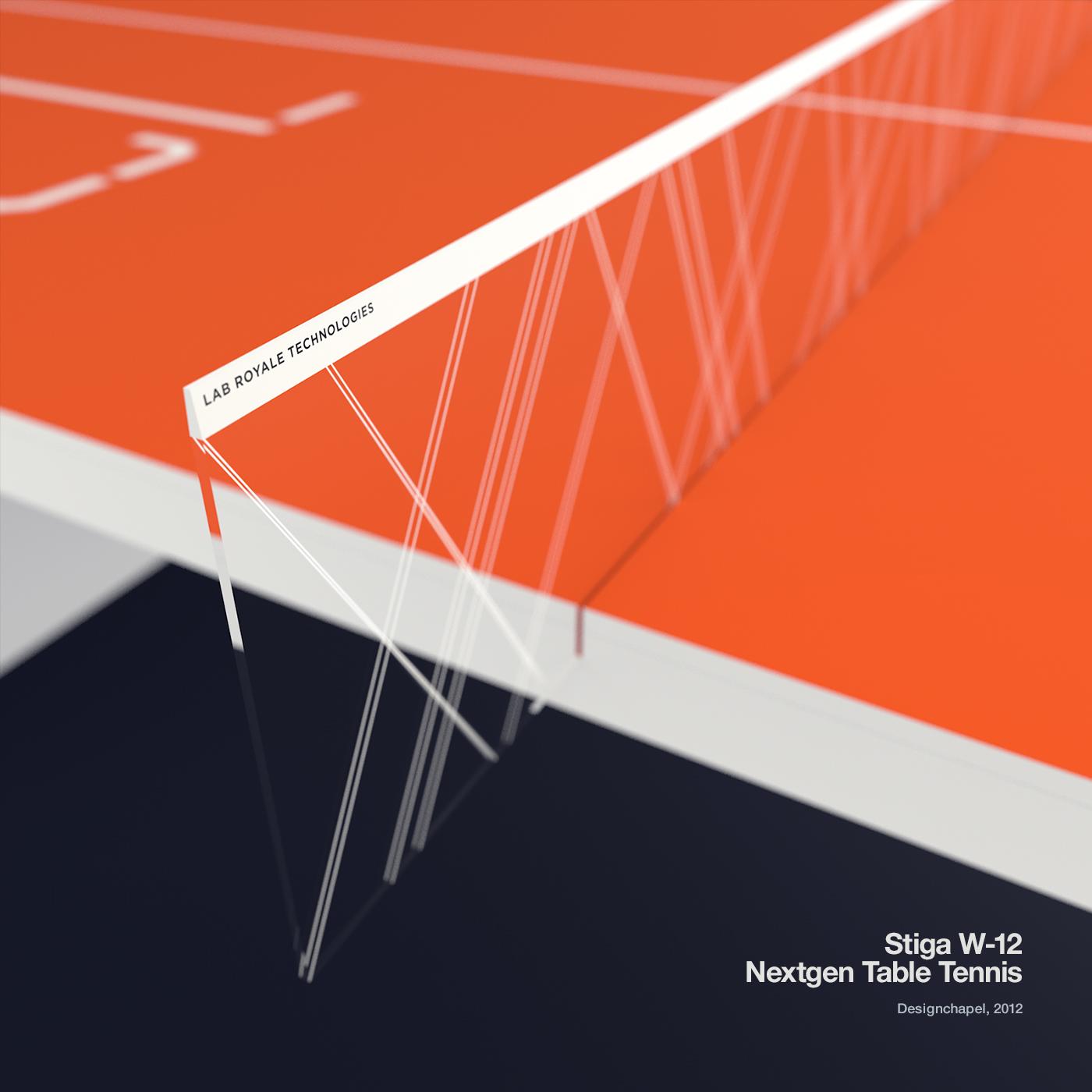 Table Tennis W-12